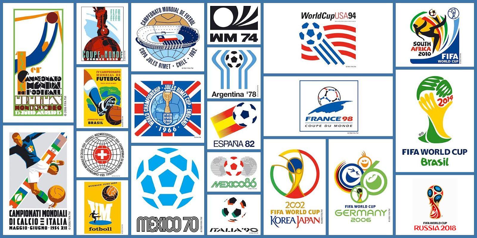 alle logos WK voetbal historie WK 2022