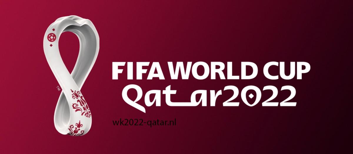 Officiële logo wk 2022